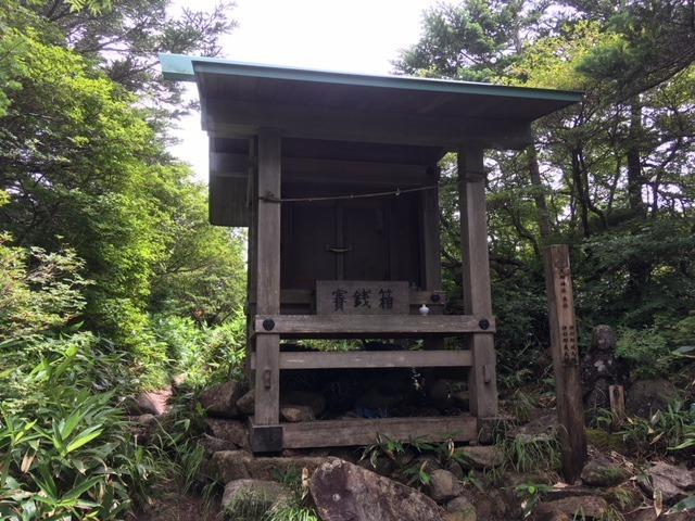 恵那神社(奥宮本社)恵那山山頂...